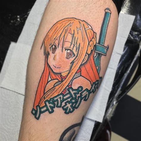 sword art online tattoo 32 most beautiful anime tattoos akibento