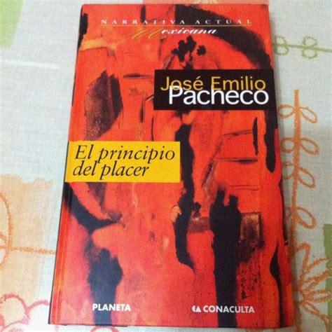 libro el pasaje books4pocket narrativa libro quot el principio del placer quot de jos 233 emilio pacheco narrativa actual mexicana libros
