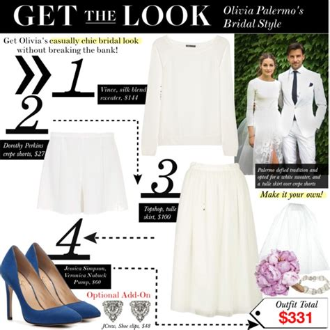 GET THE LOOK: Olivia Palermo Bridal Style   Polyvore
