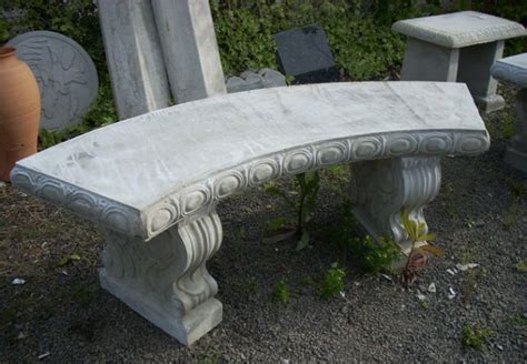 curved concrete bench curved concrete bench 2 decor outdoor concrete bench and