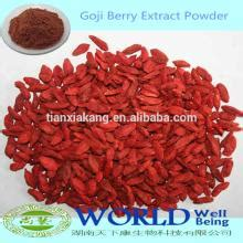 Goji Berry Kering 100 Gr china supplier 100 goji berry extract polysaccharides incrasing immunnity wolfberry