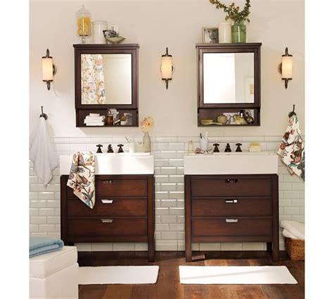 pottery barn medicine cabinet shelves seville wall mounted medicine cabinet pottery barn