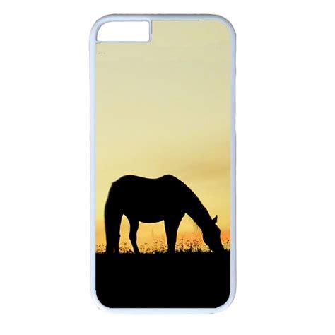 Casing Iphone 6 6s Cover Loving iphone 4s 5s 5c 6 6s plus white cover horses animal design ebay