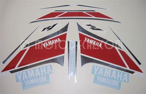 Yamaha 50th Anniversary Aufkleber by Yamaha Yzf R1 2012 Wgp 50th Anniversary Decal Kit By