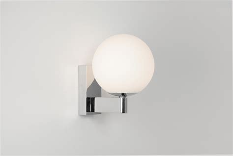 Globe Bathroom Light Astro Sagara 0774 Globe Bathroom Wall Light 1 X 40w G9 Ip44 Polished Chrome Ebay