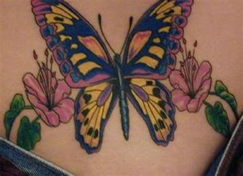 tattoo butterfly yellow butterfly tattoo gt gt yellow butterfly and hibiscus for
