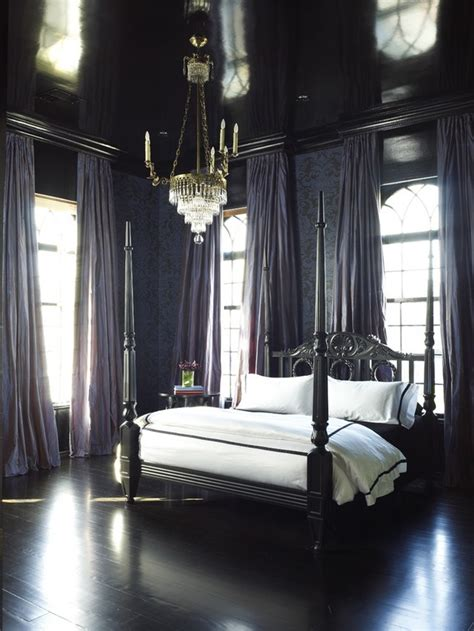 Black And White Bedroom Design Inspiration Black Design Inspiration For A Master Bedroom Decor