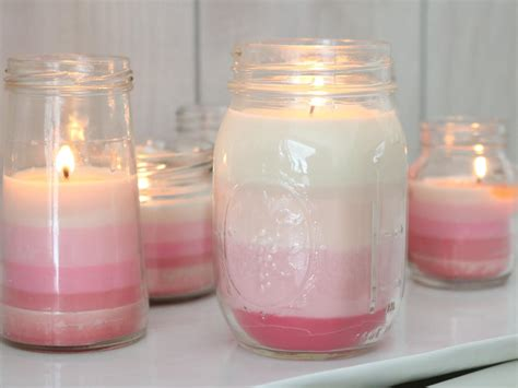 costruire candele learn how to make ombre striped candles diy network