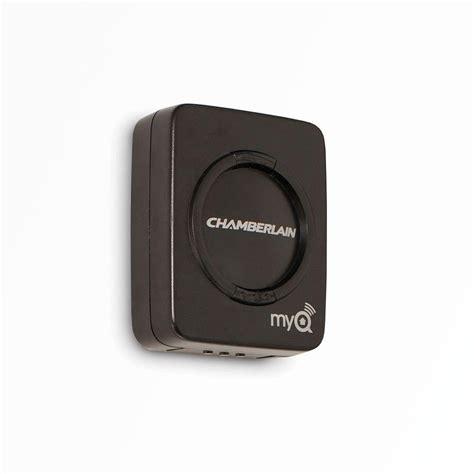 myq garage door monitor chamberlain chamberlain myq garage door sensor myq g0202 the home depot