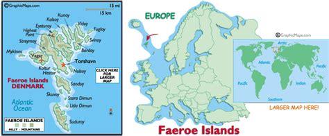 faeroe islands map and and map of faeroe islands
