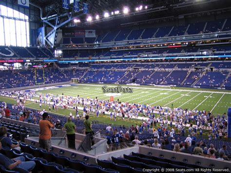 what is section 236 lucas oil stadium section 236 indianapolis colts