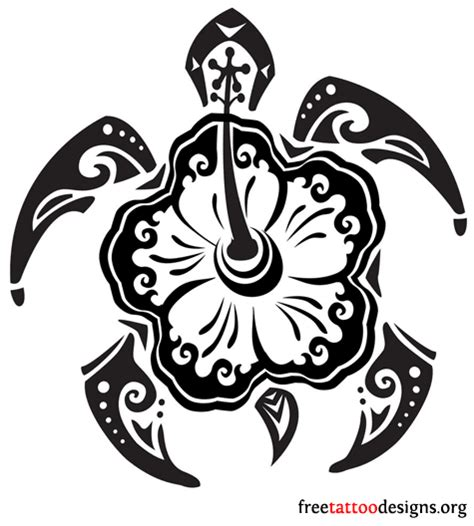 polynesian turtle tattoo turtle tattoos polynesian and hawaiian tribal turtle designs