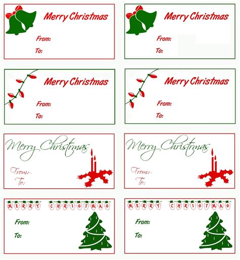 christmas html layout gift tags templates free best template idea