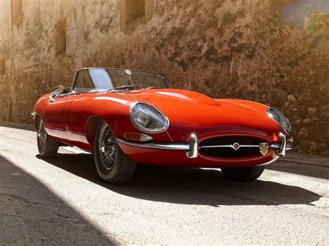 e type jaguar e type a work of art on wheels video and images