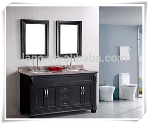 60 quot factory directly solid wood bathroom vanity for sale