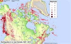 canada earthquake map earthquake science has advanced but there s no predicting