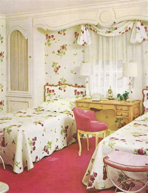 rustikales vintage schlafzimmer 42 wundersch 246 ne design ideen mit vintage tapeten