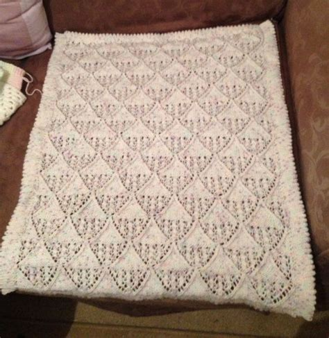 Knitted Pram Blanket Patterns Free by 1000 Images About Knitted Baby Blankets On