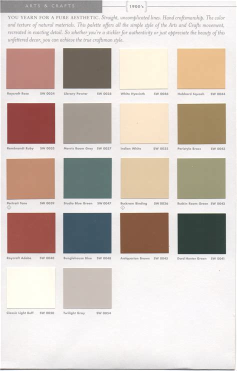 paint schemes historic paint colors pt 1 como bungalow