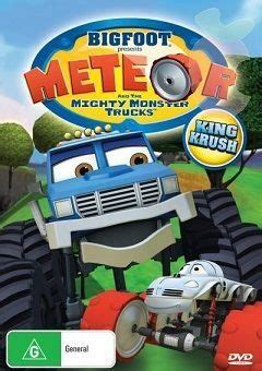 bigfoot presents meteor monster trucks watch bigfoot presents meteor and the mighty monster