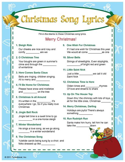 printable christmas music games christmas carol scramble worksheet search results