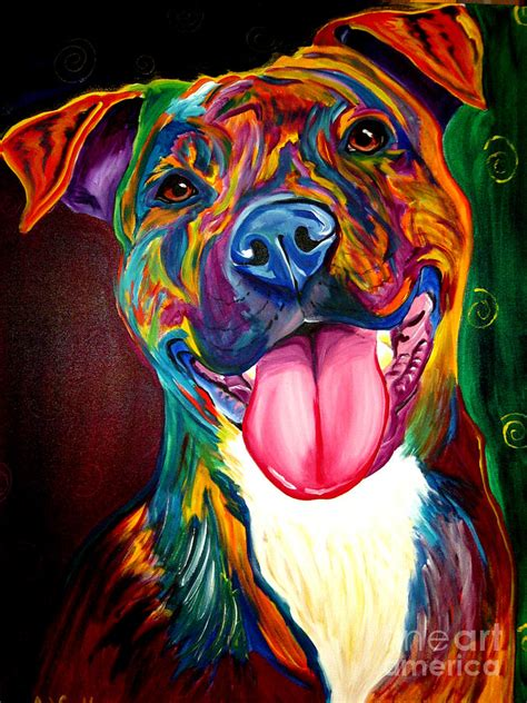 pit paint pit bull olive by vannoy call