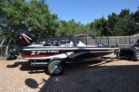 used nitro z7 bass boats for sale nitro z7 bass boat for sale