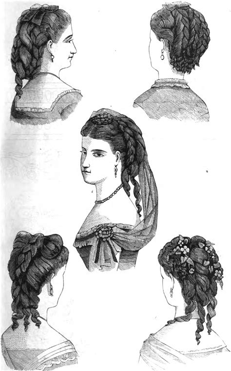 19th Century Hairstyles by 19th Century Historical Tidbits 1870 Hair Fashions
