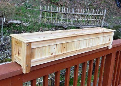 rail planter 17 best ideas about deck railing planters on pinterest