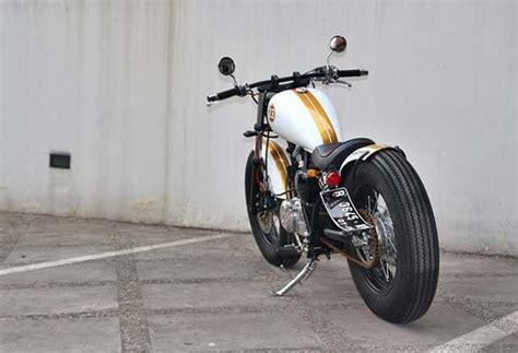 Jual Honda Semakin Di Depan Kaskus by Hondayes Modifikasi Suzuki Thunder 250 Brat Bobber