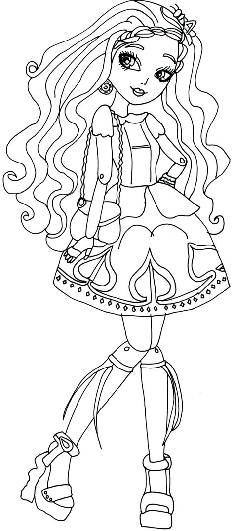 coloring page ever after high free printable ever after high coloring pages april 2014