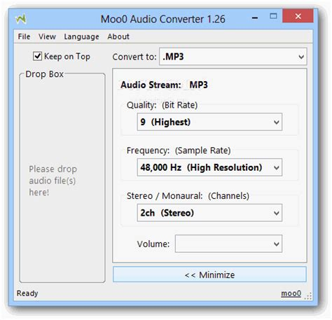 format audio yang paling kecil download gratis moo0 audio converter 1 29 aplikasi