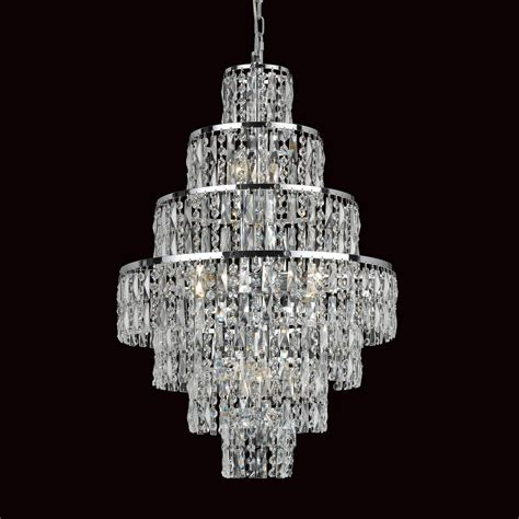 Chandelier Nyc Impex Cf03220 08 Ch New York 8 Light Cascade Chandelier