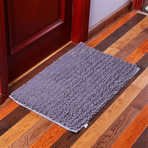 machine washable bathroom carpet kcasa kc 332 40x60cm chenille mixed hair soft mat machine washable bathroom anti slip