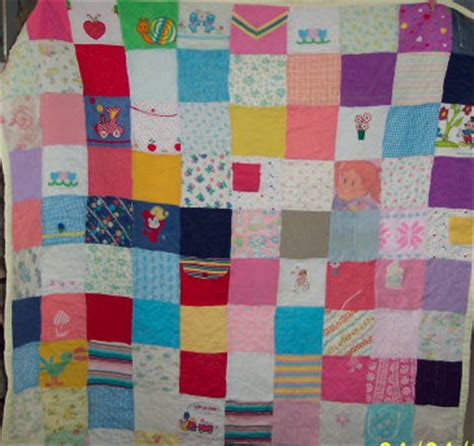Patchwork Quilt Out Of Baby Clothes - how to make pieced quilts easy quilt kits how to make an