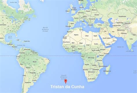map of tristan da cunha fancy working on the world s most remote inhabited island
