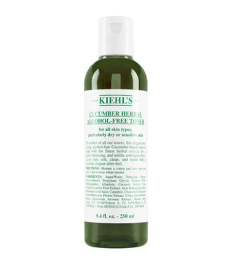 Toner Kiehl S cucumber herbal free toner skincare and