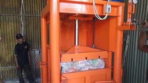 Alat Press Plastik Bekas mesin press limbah plastik