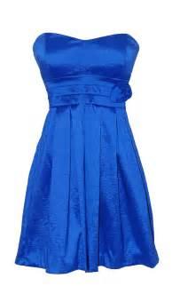 blue dresses royal blue strapless sweetheart taffeta dress