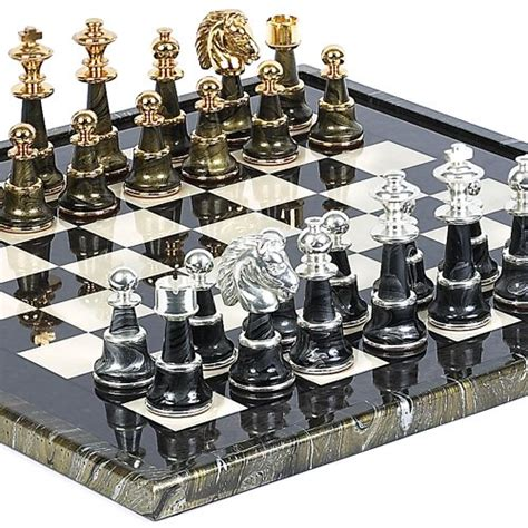 luxury chess set bello games collezioni mancini luxury chess set 24k gold