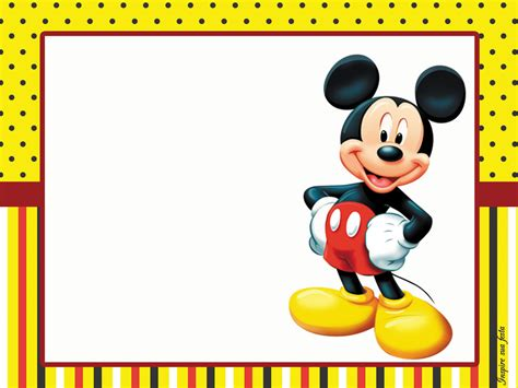mickey mouse birthday card template free pin by dynyce on paper idea disney
