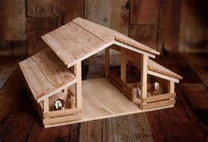 Barns For Kids Handmade Wood Toy Barn With 4 Stalls