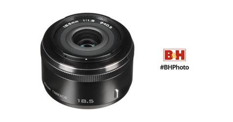 Nikon 1 Nikkor 18 5mm F 1 8 White nikon 1 nikkor 18 5mm f 1 8 lens black 3323 b h photo