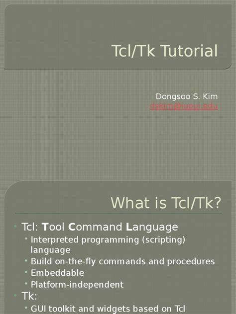 pattern matching tcl exles tutorial tcl scripting language notation