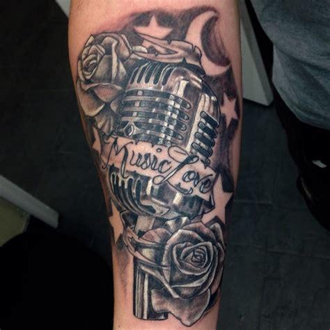 microphone tattoo on wrist microphone rose tattoo www pixshark com images