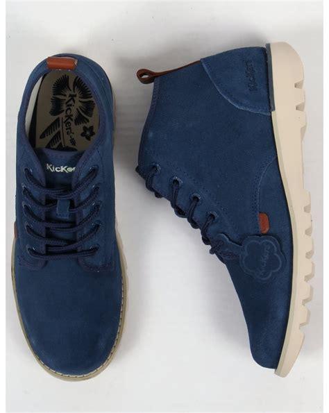 Kickers Neadle Casual Blue kickers kick hisuma suede boots blue kickers from 80s casual classics uk