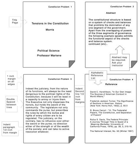 Apa Report Format Template st joseph hospital apa template