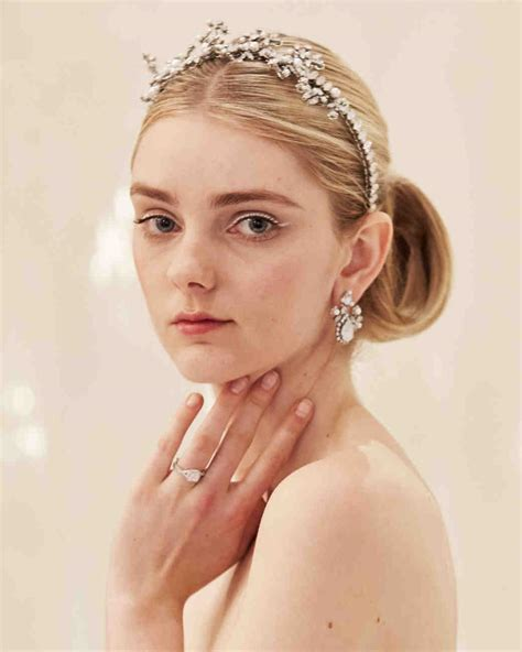 dainty wedding hairstyle ideas spring 2016 wedding hairstyles for bows buds tiaras and more from