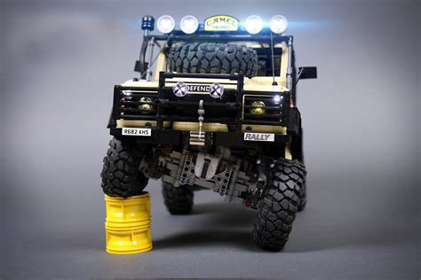 land rover lego lego rc land rover defender 90 hiconsumption