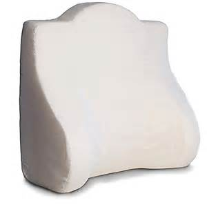 back buddy 174 support pillow in white bed bath beyond